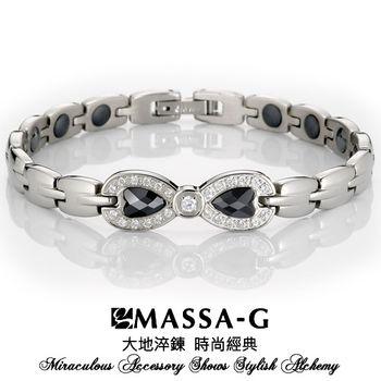 MASSA-G Deco系列【璀璨經典】白鋼能量手環
