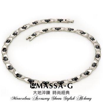 MASSA-G Deco系列【璀璨晶簡】 純鈦項鍊