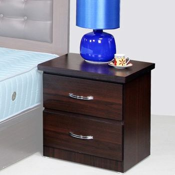 《Homelike》黛絲 二抽床頭櫃(2色)