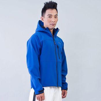 TECL-WOOD《96625》防風防水保暖連帽夾克(寶藍)