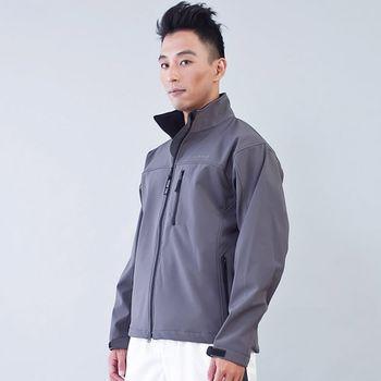TECL-WOOD《96614》防風防水透氣保暖男外套(灰色)