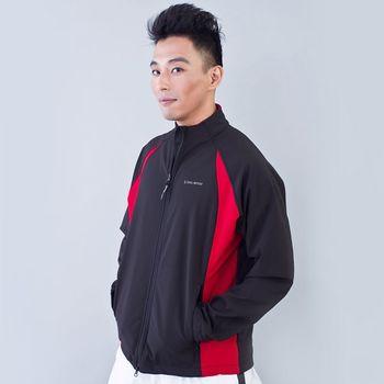 TECL-WOOD《96623》防風防水保暖軟殼外套(黑/紅)