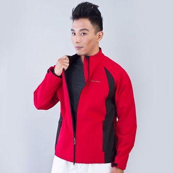 TECL-WOOD《96621》防風防水保暖軟殼夾克(紅/黑)