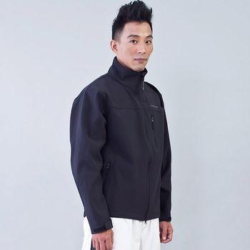 TECL-WOOD《96613》防風防水透氣保暖外套(黑色)