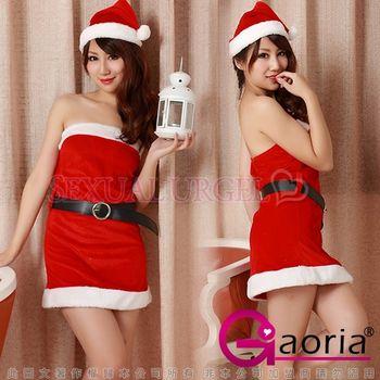 【Gaoria】聖誕女郎性感超短裙情趣睡衣