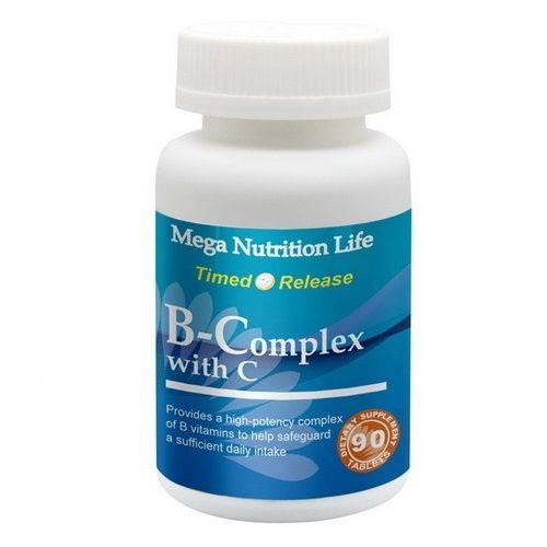 營養生活高單位B+C錠4入