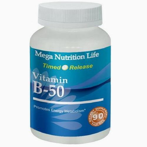 營養生活長效型維他命B群(B50) 4入