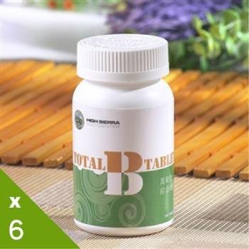 《高原本草》Total-B活力維生素B群6入組