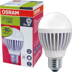 【OSRAM歐司朗】 LED燈泡 8W(3入)-型網