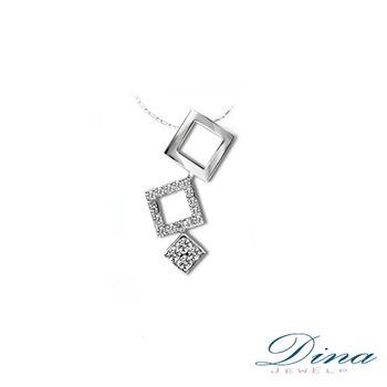 DINA JEWELRY 蒂娜珠寶_個性天然鑽石造型項鍊