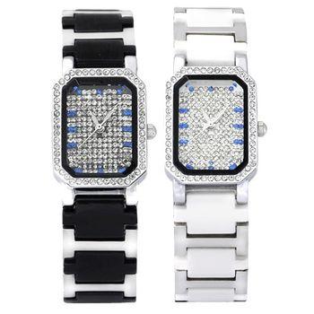 克萊米亞奢華滿天星陶瓷腕錶組