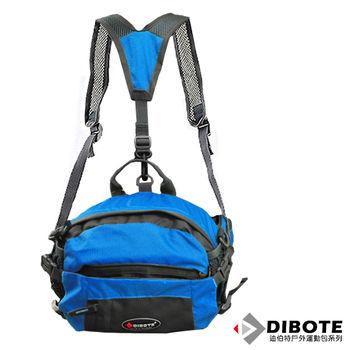 【迪伯特DIBOTE】透氣休閒3way 腰包/背包/臀包
