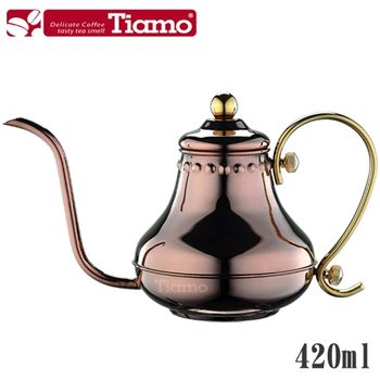 Tiamo 宮廷式細口壺-玫瑰金 0.42L(HA8562)