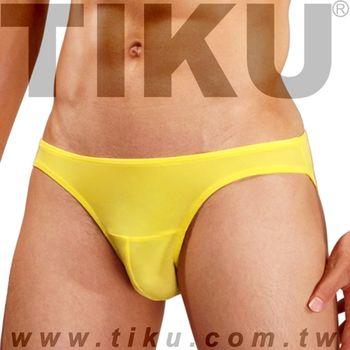 TIKU 梯酷 ~ 陽光黃 超彈貼身三角男內褲(Y2P1692)