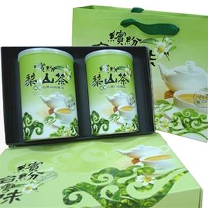 【新造茗茶】梨山頂級手採高山茶葉禮盒(150g*2罐)