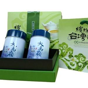【新造茗茶】大禹嶺特等手採高山茶葉禮盒(150g*2罐)