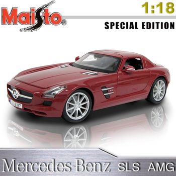 Mercedes-Benz SLS AMG《1/18 》合金模型車