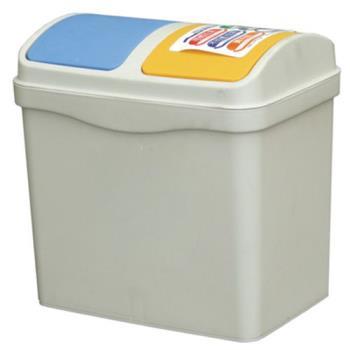 【收納達人】20L哥倆好分類垃圾桶