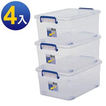 【收納達人】附輪整理箱35L(4入)