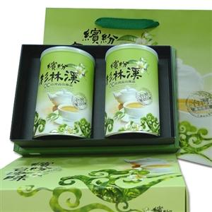 【新造茗茶】杉林溪極品手採高山茶葉禮盒(150g*2罐)