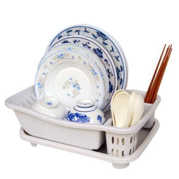 【收納達人】 妙用滴水碗盤架