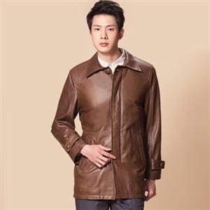 IKON精選頂級紳士羊皮外套