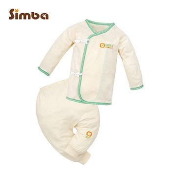 【小獅王辛巴 】元氣綿柔反袖肚衣套裝(60cm)