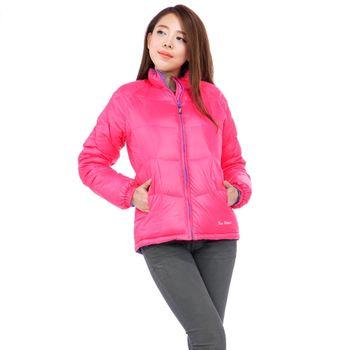 FOX FRIEND 女款雙面穿超輕羽絨外套(1090I 粉桃/紫)網
