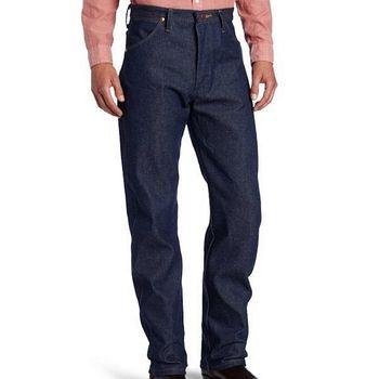 Wrangler 藍哥男經典原創設計深藍牛仔褲