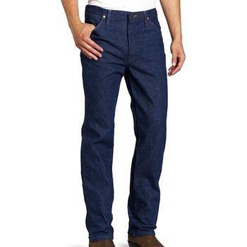 Wrangler 藍哥男魅力合身預洗靛藍色牛仔褲