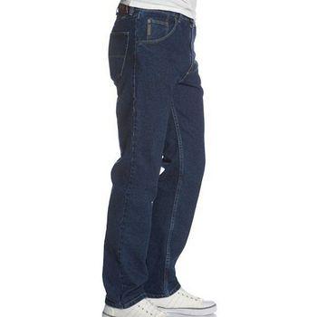 Wrangler 藍哥男標緻合身復古靛藍色牛仔褲