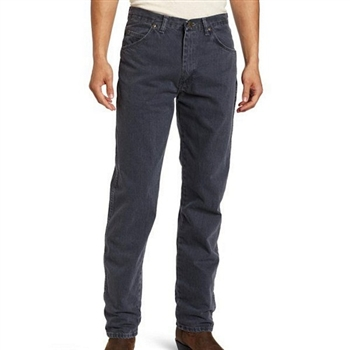 Wrangler 藍哥男品味時尚耐磨灰藍牛仔褲