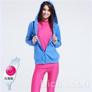 Bich Loan高科技鋁點蓄熱保暖外套-輕.薄.紫