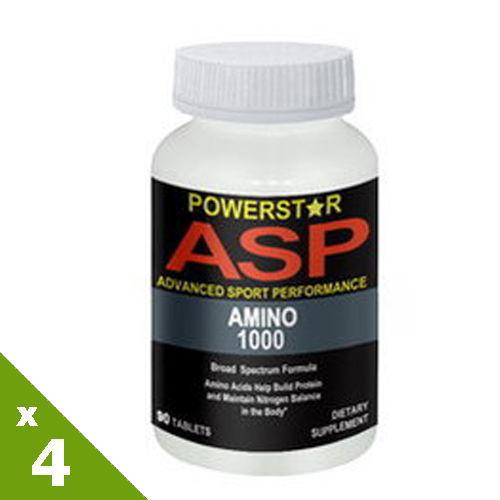 【美國原裝進口 營養生活】(胺基酸)亞米諾錠4入