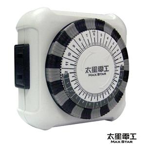 【太星電工】省電家族-家用2P機械式定時器OTM406(2入)