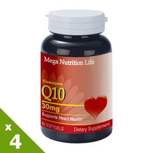 【美國原裝進口 營養生活】輔酵素Q10軟膠囊4入