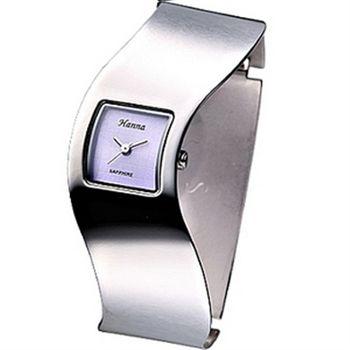 Hanna 一體成型時尚手環錶-網