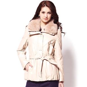 IKON米蘭時尚羽絨皮外套