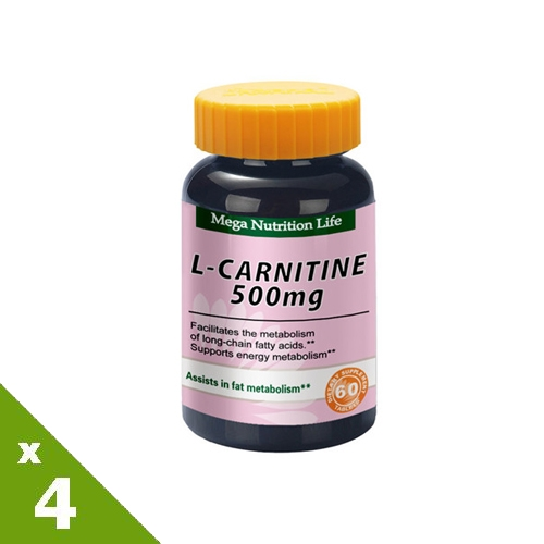 【美國原裝進口 營養生活】左旋卡尼汀錠4入