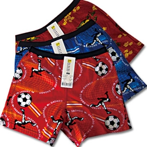 【Mr.DADADO】小童印花內褲3件組超值組(110-160)
