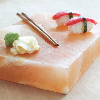 【Naluxe】多用途玫瑰鹽料理盤(10x10x4cm)