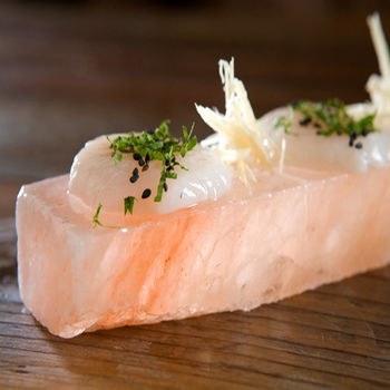 【Naluxe】 多用途玫瑰鹽料理盤(20x10x2.5cm)