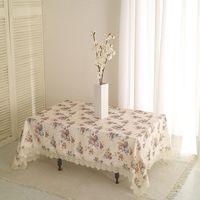 ~巴芙洛~小玫瑰蕾絲桌巾120cmx120cm