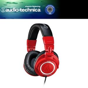 audio-technica 鐵三角 ATH-M50頭戴式耳機 - 網