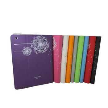 iPad4平板保護皮套【L50花絮款-玫瑰紅】