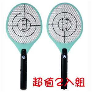 【日象】特大強拍電池式捕蚊拍 ZOM-2200(2入組)