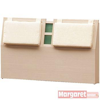 【Margaret】京都靠墊加厚款雙人5尺床頭片(2色可選)