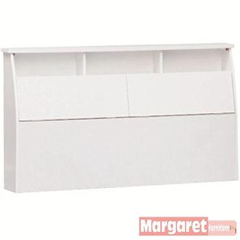 【Margaret】美樂蒂靠墊型雙人5尺床頭箱(3色可選)
