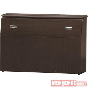 【Margaret】加強型噴漆雙人5尺床頭箱(4色可選)