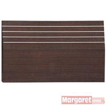 【Margaret】簡約線條加厚款雙人5尺床頭片(2色可選)